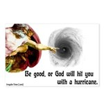 Eight God and Hurricanes Postcards
