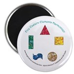 Five Eastern Elements Magnet