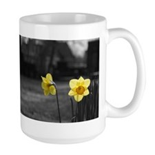 Cute White flower Mug