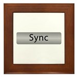Sync With This Framed Tile