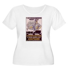 Engineers and Mechanics Wanted T-Shirt