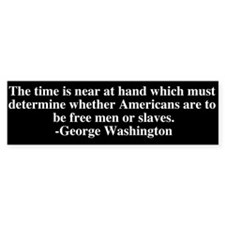 George Washington Bumper Sticker