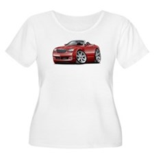 Crossfire Maroon Convertible T-Shirt