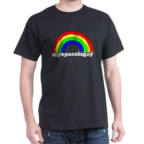 myspaceisgay Black T-Shirt