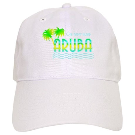 Aruba Palm Trees Cap