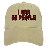 I See Ed People Baseball Cap