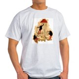 Mad Scientist Skeletons T-Shirt