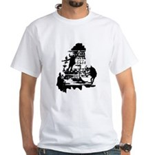 Mad Scientist Skeletons Shirt