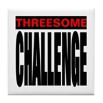 Threesome Tile Coaster