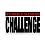 Threesome Rectangle Magnet (100 pack)