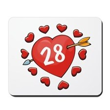 28th Valentine Mousepad