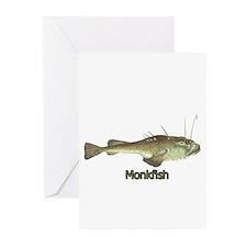 Monkfish Greeting Cards (Pk of 10)