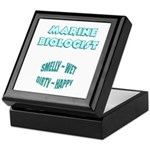 Marine Biologist Humor Keepsake Box