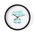 Marine Biologist Humor Wall Clock