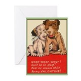 Vintage Valentine Seven Greeting Cards (Pkg. of 6