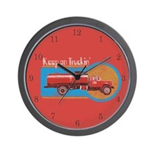 Keep on Truckin' Wall Clock