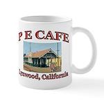 P E Cafe Mug