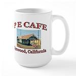 P E Cafe Large Mug
