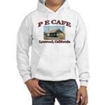 P E Cafe Hooded Sweatshirt