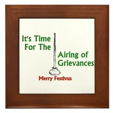 Funny Airing of grievances Framed Tile
