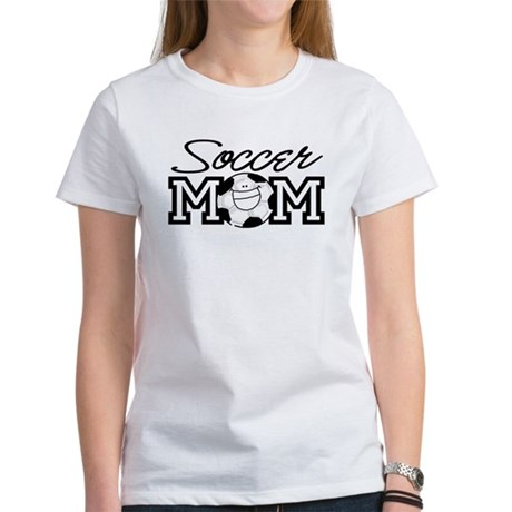Soccer Mom Smiley Women's T-Shirt
