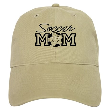 Soccer Mom Smiley Cap