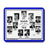 Walsh High School Class of 1955 Mousepad