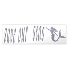 mermaid Bumper Sticker