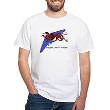 Weight Shift Trike winged dragon blue T-Shirt