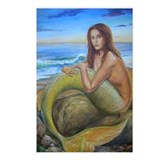 Mermaid Postcards (Package of 8)