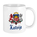 Latvia Coffee Mug