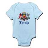 Latvia Infant Bodysuit
