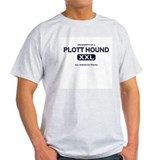 Property of Plott Hound Grey T-Shirt