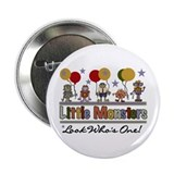 "Little Monsters 1st Birthday 2.25"" Button (10 pack"