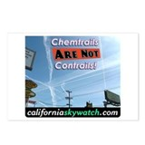 Chemtrails Postcards (Package of 8)