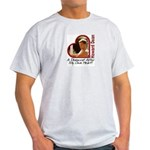 Young Howard Dean Ash Grey T-Shirt