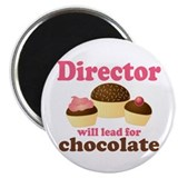 Music Director Chocolate Magnet