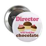 "Music Director Chocolate 2.25"" Button"