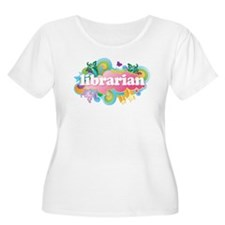 Retro Burst Librarian T-Shirt