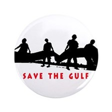 "Save the Gulf 3.5"" Button"