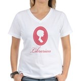 Pretty Librarian Silhouette Shirt