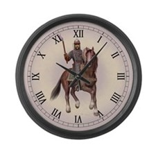 Cute Harold Large Wall Clock