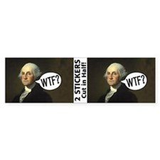 Washington WTF Bumper Sticker