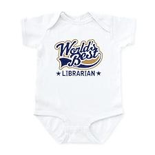 Worlds Best Librarian Infant Bodysuit