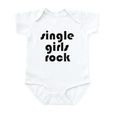 Single Girls Rock Infant Creeper
