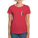 DENMARK SOCCER 3 Women's Dark T-Shirt