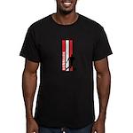 DENMARK SOCCER 3 Men's Fitted T-Shirt (dark)
