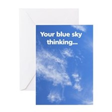 Card: Blue sky thinking