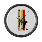 GERMANY FOOTBALL 3 Large Wall Clock