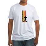 GERMANY FOOTBALL 3 Fitted T-Shirt